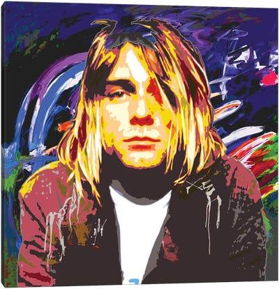 Cobain X Canvas Art Print