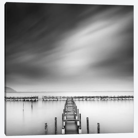 By The Sea Canvas Print #GDI1} by George Digalakis Canvas Art Print