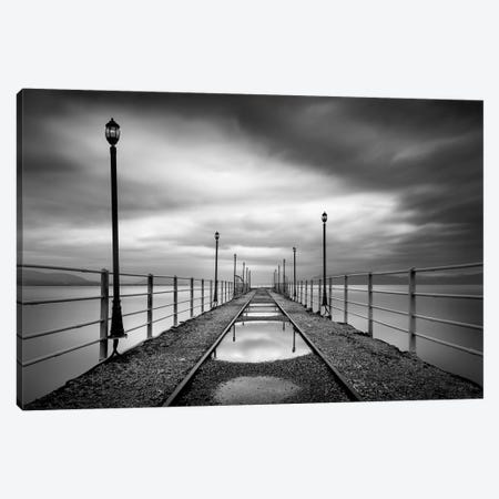 Long Walk Canvas Print #GDI5} by George Digalakis Canvas Artwork
