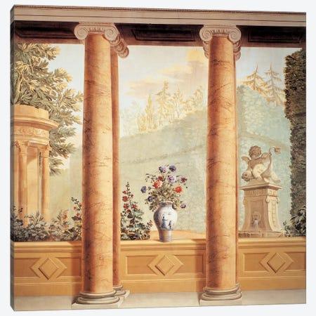 Colonnato Con Veduta Canvas Print #GDM1} by Giuseppe Del Moro Art Print