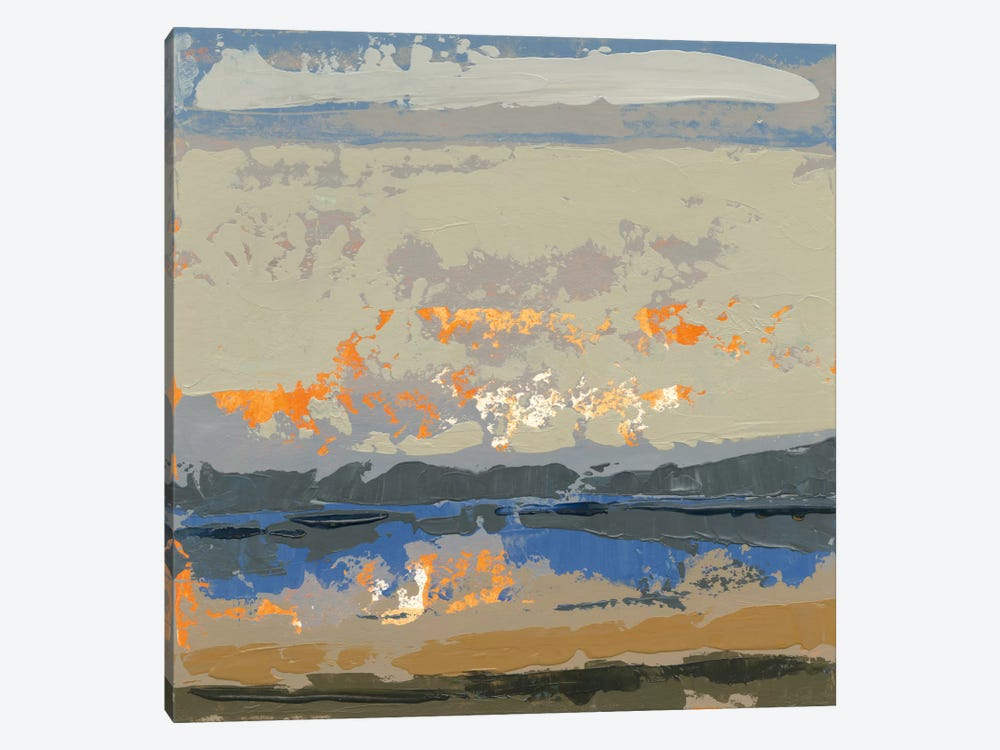 Evening Killala Bay 1-piece Canvas Art Print