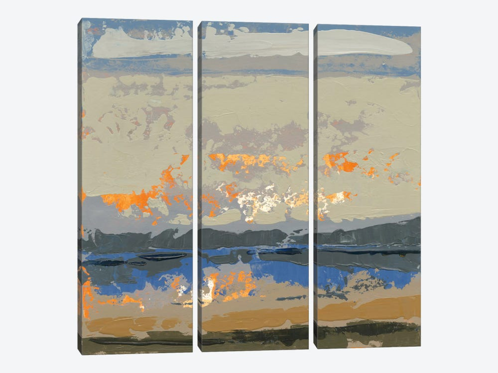 Evening Killala Bay by Grainne Dowling 3-piece Canvas Print