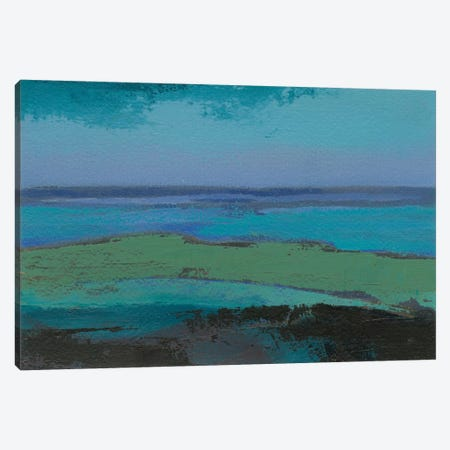 Low Tide Killala Canvas Print #GDO4} by Grainne Dowling Canvas Art