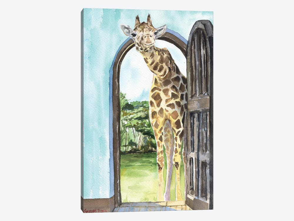 Knock Knock  by George Dyachenko 1-piece Art Print
