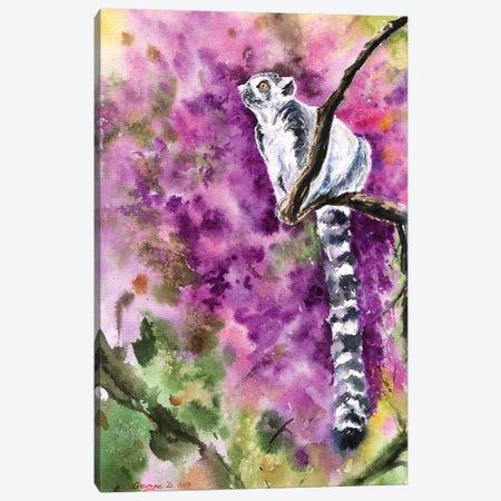 Lemur Canvas Print #GDY101} by George Dyachenko Canvas Art Print