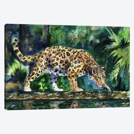 Leopard Canvas Print #GDY102} by George Dyachenko Canvas Art Print