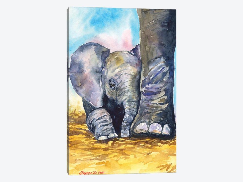 Mother Love by George Dyachenko 1-piece Canvas Artwork