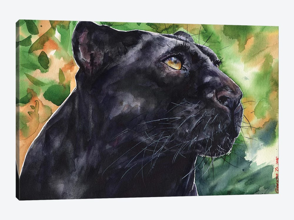 Panther by George Dyachenko 1-piece Canvas Print