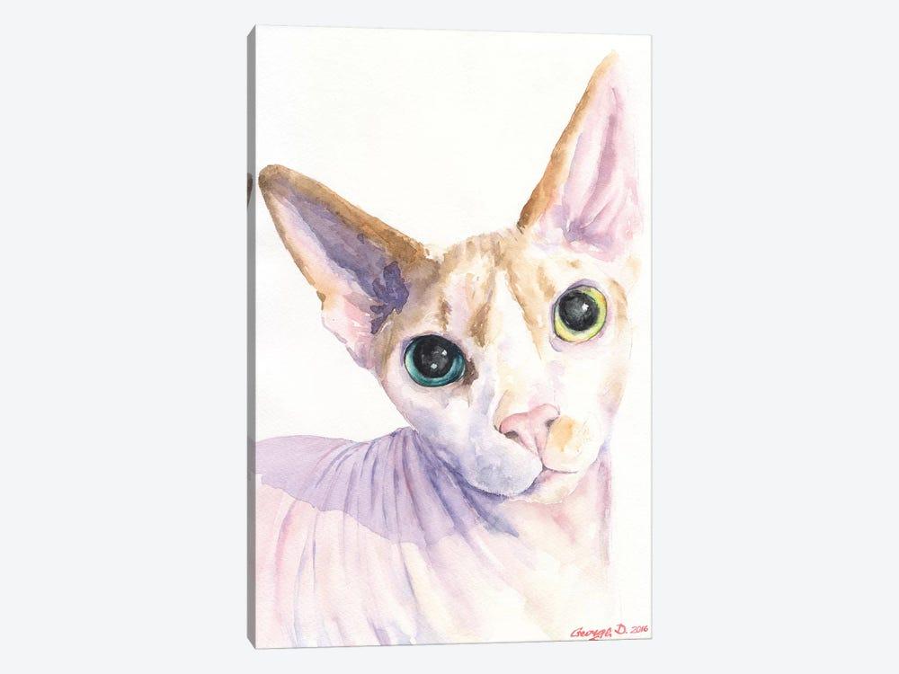 Sphynx Cat by George Dyachenko 1-piece Canvas Art Print