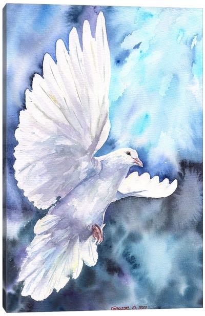 White Dove Canvas Art Print
