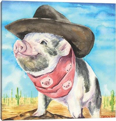 Wild West Canvas Art Print