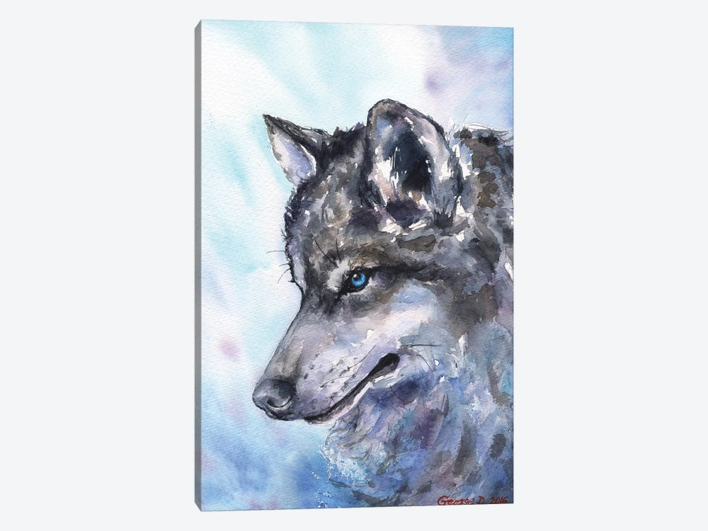 Wolf by George Dyachenko 1-piece Art Print