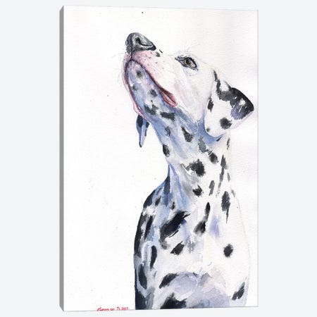 Dalmatian Canvas Print #GDY155} by George Dyachenko Canvas Print