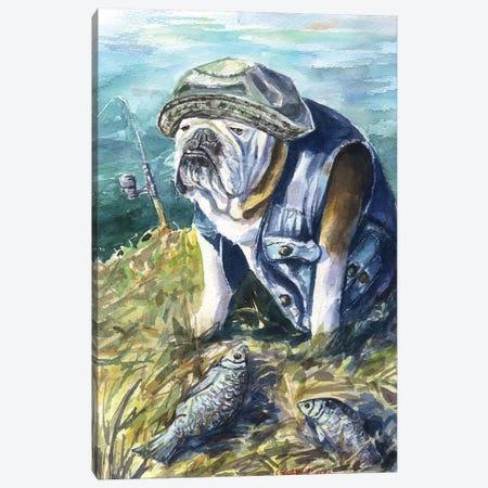 Fishing Canvas Print #GDY160} by George Dyachenko Canvas Art Print