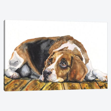 Beagle Canvas Print #GDY194} by George Dyachenko Canvas Print