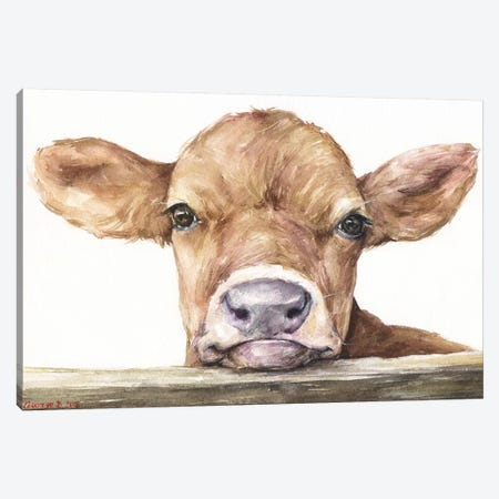 Calf Canvas Print #GDY206} by George Dyachenko Canvas Print