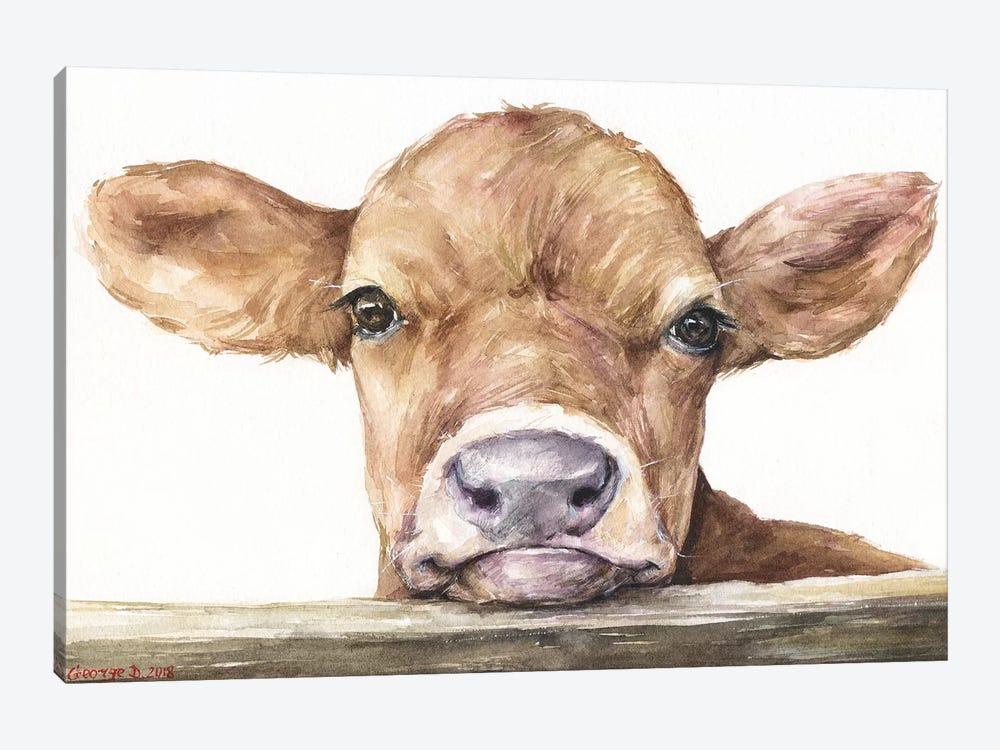 Calf by George Dyachenko 1-piece Art Print