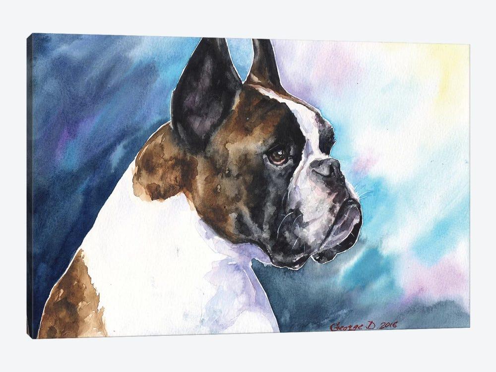 Boxer by George Dyachenko 1-piece Canvas Art