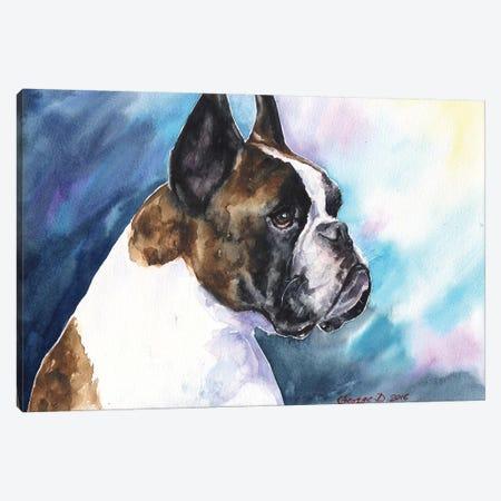 Boxer Canvas Print #GDY20} by George Dyachenko Canvas Art Print