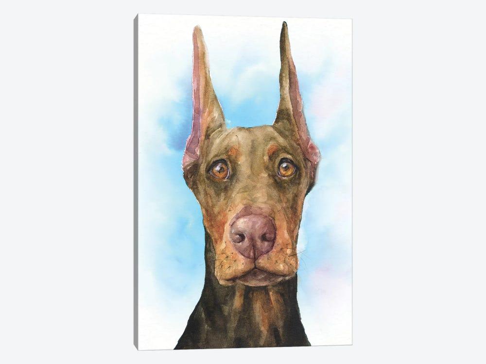 Doberman Puppy by George Dyachenko 1-piece Canvas Art
