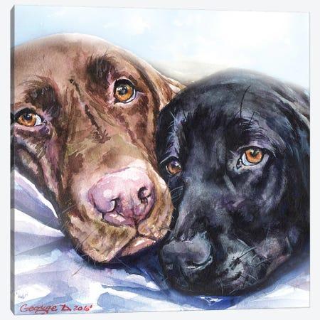 Friends Canvas Print #GDY218} by George Dyachenko Canvas Art Print