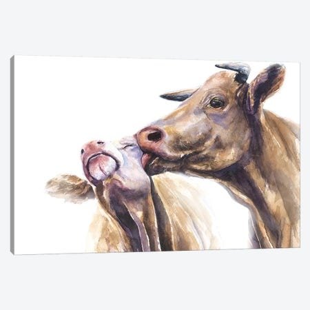 Romance Canvas Print #GDY229} by George Dyachenko Canvas Wall Art