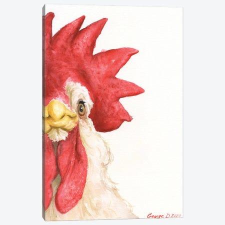 Chicken I Canvas Print #GDY271} by George Dyachenko Art Print