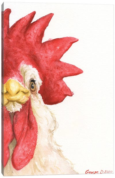 Chicken I Canvas Art Print