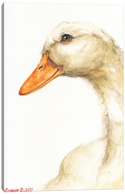 Goose Canvas Art Print