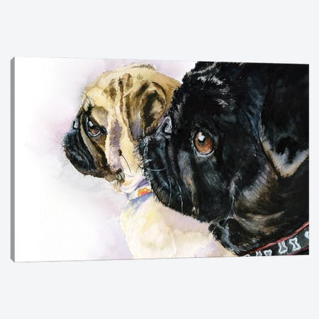 Friends together Canvas Print #GDY275} by George Dyachenko Canvas Artwork