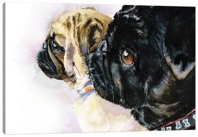 Friends together Canvas Art Print