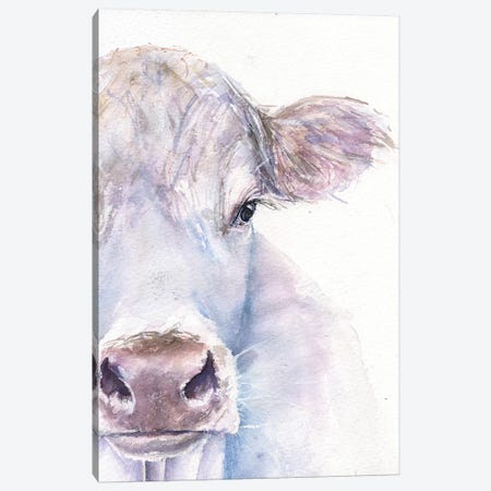 Cow Canvas Print #GDY42} by George Dyachenko Canvas Art Print