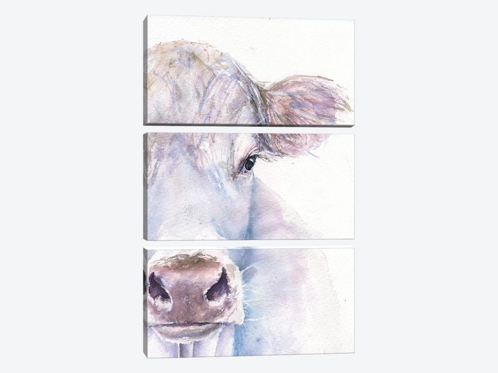 Cow by George Dyachenko 3-piece Canvas Art