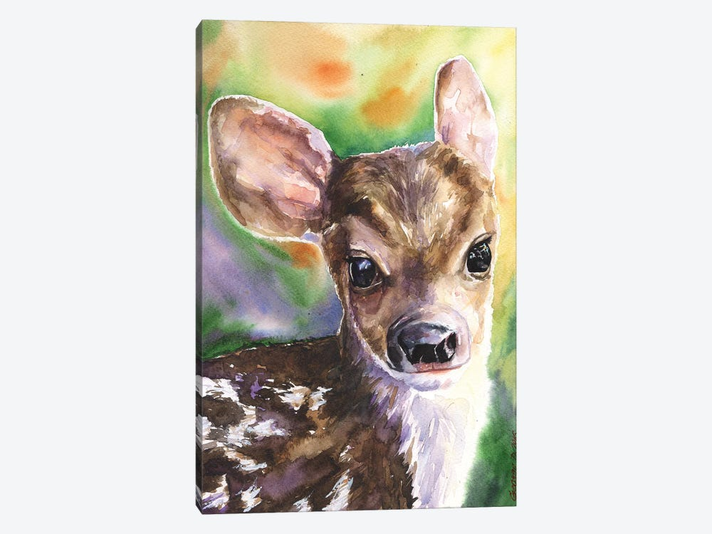 Deer Fawn by George Dyachenko 1-piece Canvas Print