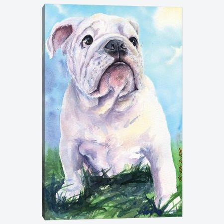 English Bulldog II Canvas Print #GDY62} by George Dyachenko Canvas Art Print