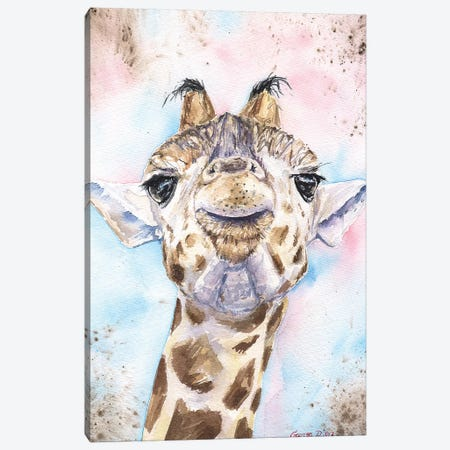 Giraffe II Canvas Print #GDY79} by George Dyachenko Canvas Art