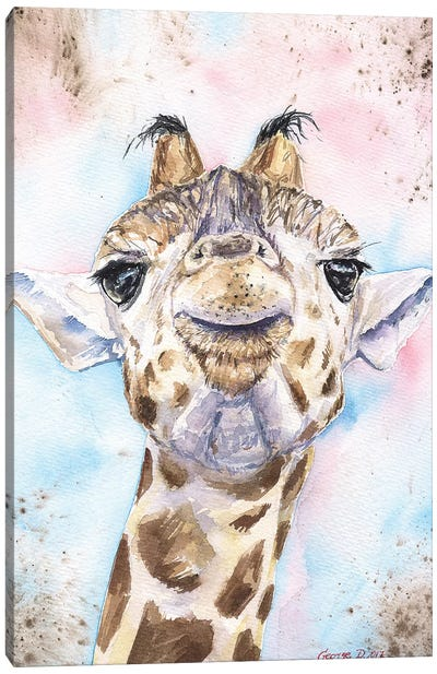 Giraffe II Canvas Art Print