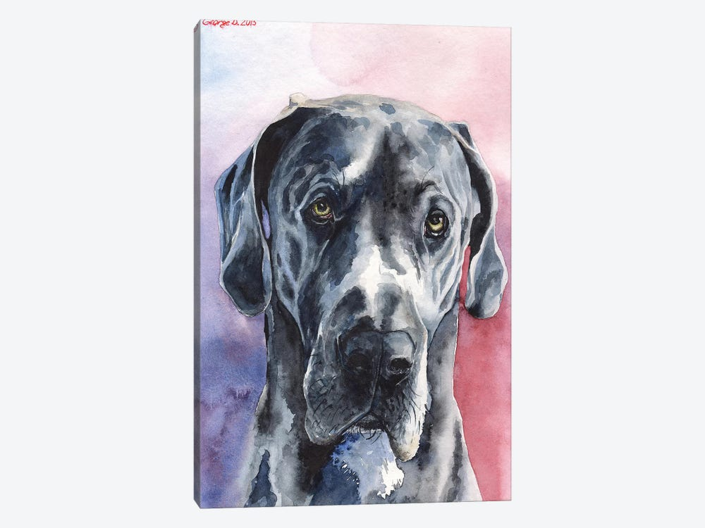 Great Dane III by George Dyachenko 1-piece Canvas Artwork