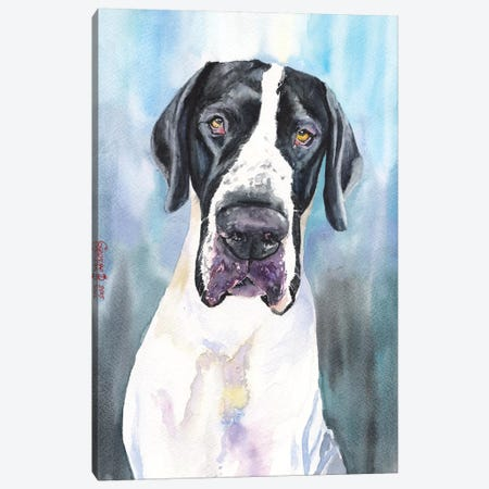 Great Dane IV Canvas Print #GDY87} by George Dyachenko Canvas Wall Art