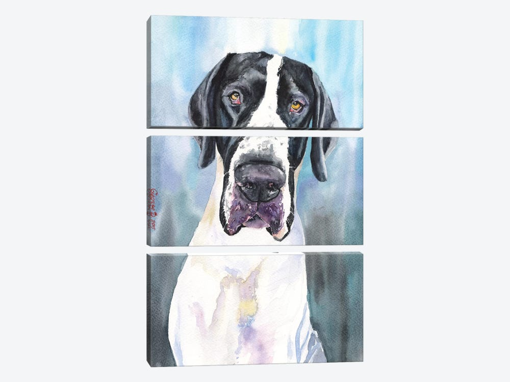 Great Dane IV by George Dyachenko 3-piece Art Print
