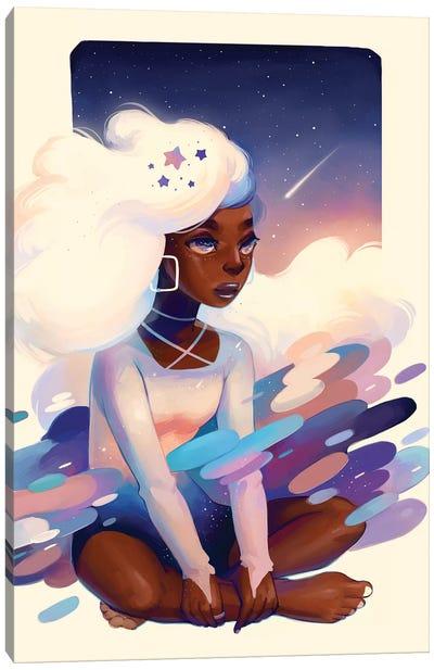 Comet Canvas Art Print
