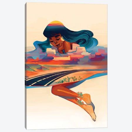 Desert Dream Canvas Print #GEB12} by Geneva B Canvas Wall Art