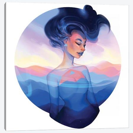 Emblem Canvas Print #GEB14} by Geneva B Canvas Art Print