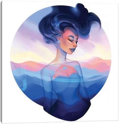 Emblem Canvas Art Print