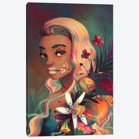 Fleur Canvas Print #GEB16} by Geneva B Canvas Print