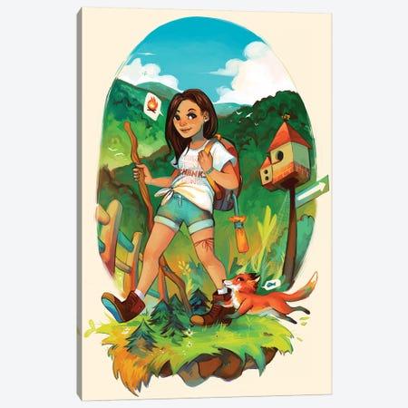 Forest Canvas Print #GEB18} by Geneva B Canvas Art