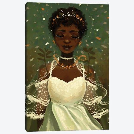 Lace Canvas Print #GEB23} by Geneva B Art Print