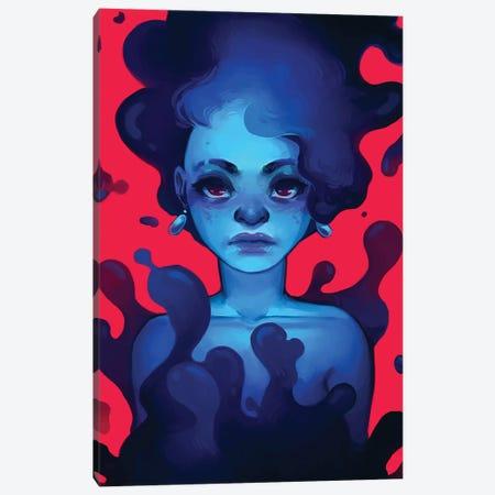 Lava Canvas Print #GEB24} by Geneva B Canvas Artwork