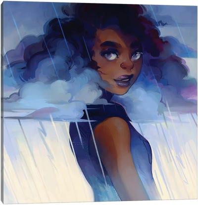 Looks Like Rain Canvas Art Print