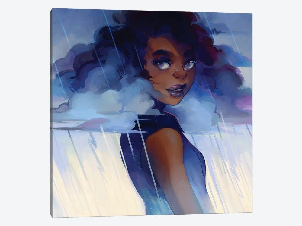 Looks Like Rain by Geneva B 1-piece Canvas Art